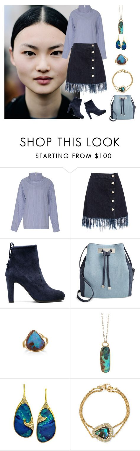 """Fall Preview III"" by karen-galves on Polyvore featuring Rosie Assoulin, 3x1, Stuart Weitzman, INC International Concepts, Annette Ferdinandsen, Jamie Joseph, Lauren Harper Collection and Kimberly McDonald"