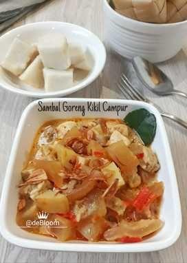 Resep 648 Sambal Goreng Kikil Campur Oleh Je Debloom Resep Resep Makanan Resep Makanan