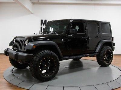 Ebay 2017 Jeep Wrangler Unlimited Ozark Mountain Edition 2017