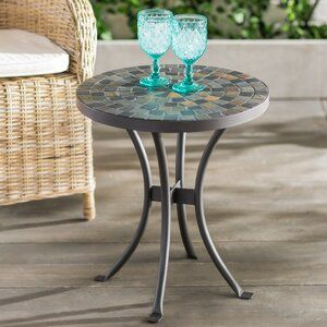 Rae Side Table In 2020 Metal Dining Table Steel Dining Table