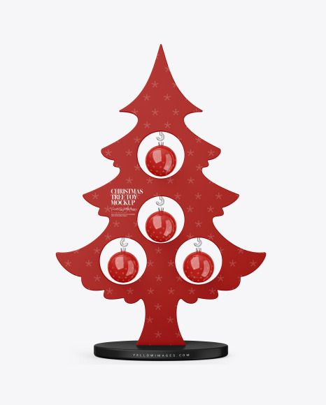 Matte Christmas Tree Toy W Balls Mockup In Object Mockups On Yellow Images Object Mockups In 2021 Christmas Tree Toy Christmas Tree Objects