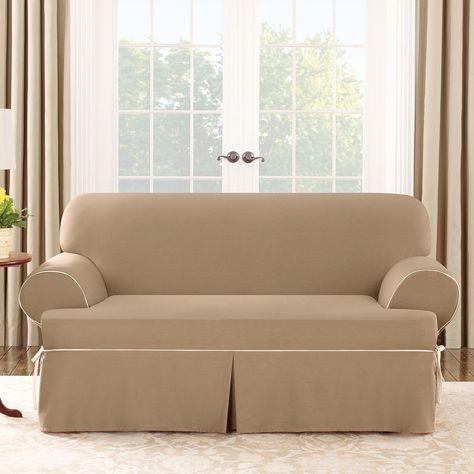 Harrison Loveseat T Cushion Slipcover Cushions On Sofa Loveseat