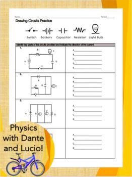 Drawing Circuits Practice Series And Parallel Circuits Circuit