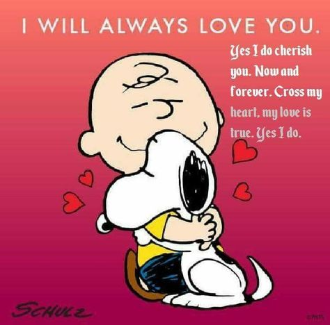 I Will Always Love You Snoopy Love Charlie Brown Snoopy E