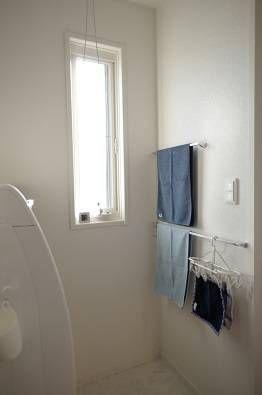 洗面室 タオル掛けはいくつあっても困らない いえ もの こと