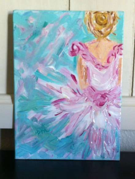 Best Painting Canvas Ideas Girl Art Projects 39 Dance Paintings Of