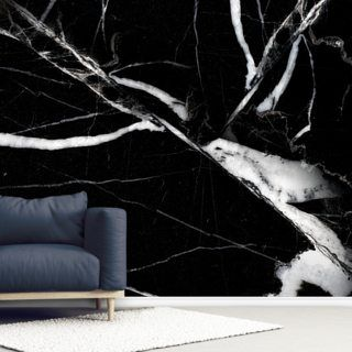 Black Marble Effect Wall Mural Wallsauce Us Marble Wallpaper Bedroom Mural Wallpaper Wallpaper Bedroom Feature Wall