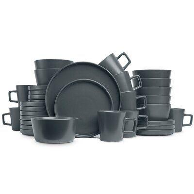 Winston Porter Lizette 32 Piece Dinnerware Set Service For 8