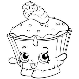 Desenhos De Cupcake Para Pintar Imprimir Colorir Cupcake