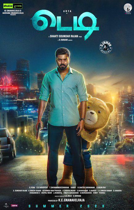 Arya And Sayyeshaa S Teddy First Look Is Here 2 Teddy Movie Really Good Movies Tamil Movie