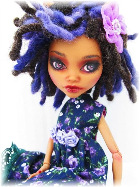 Clawdeen Monster High Monster High Custom doll by Donna Anne  www.fantasydollsbyd.com  Commissions welcome