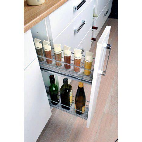 Meuble Cuisine 15 Cm De Large Ikea Gallery En 2020 Rangement Tiroir Cuisine Meuble Cuisine Rangement Epices