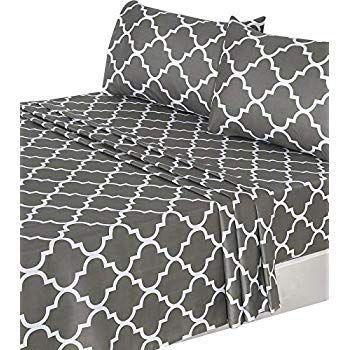 Amazon Com Mellanni Sheet Set Brushed Microfiber 1800 Bedding Wrinkle Fade Stain Resistant Hypoallergenic 3 Piece Twin Bed Microfiber Bedding Sheet Sets