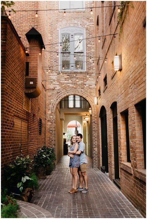 City + Prairie Engagements in Downtown Fort Worth, Texas   Ellie + Jonathan   Nicole Aston Photo