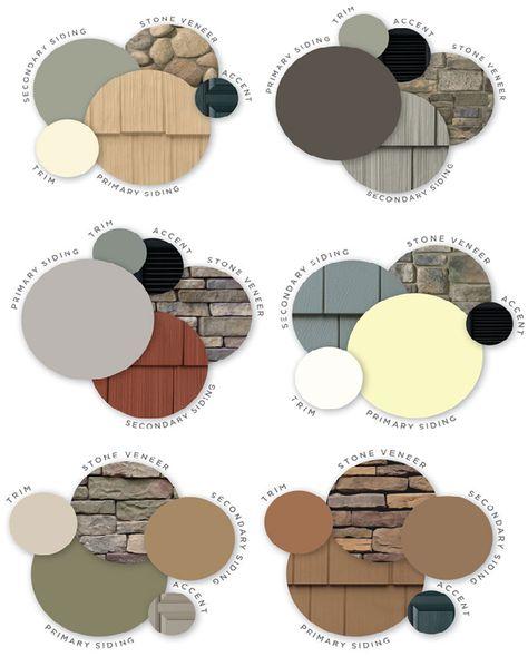 New exterior house siding ideas vinyls paint colors ideas Vinyl Siding Colors, Exterior Siding Colors, House Paint Exterior, Painting Vinyl Siding, Vinyl House Siding, Craftsman Exterior Colors, Vinyl Shake Siding, Roof Shingle Colors, Cedar Shake Siding