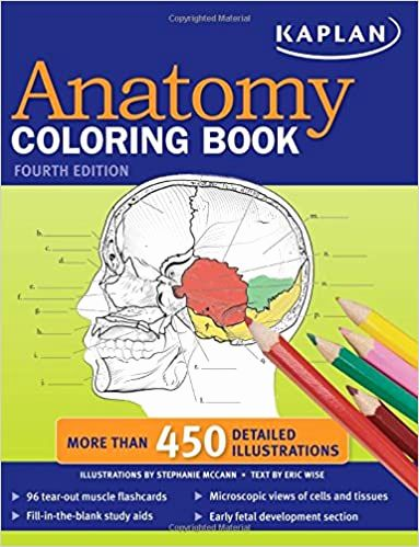 Best Anatomy Coloring Book Best Of Kaplan Anatomy Coloring Book Medicine Anatomy Coloring Book Coloring Books Science Books
