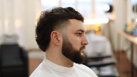 How To Cut A Modern Mullet | Side Taper Tutorial | Skin Fade