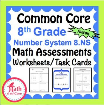 1000 Common Core Math 7th Assessments - Warm Ups - Task Cards - formal assessment