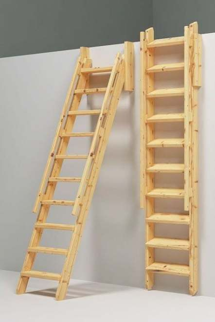 36 Ideas Small Wood Projects For Kids Space Saving Loft Stairs Tiny House Stairs Diy Stairs