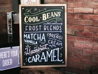 Top 5 Business Uses Of Chalkboard Signs And Menus Plus Cool
