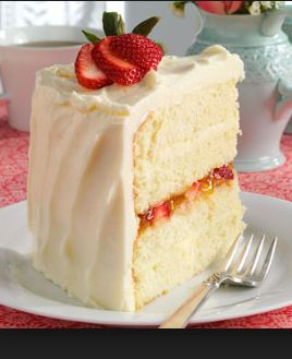 White Almond Wedding Cake Recipe From Scratch Ercream Recipes Pinterest Cakes And Almonds
