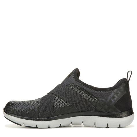 3ffd654d05b9 Skechers Women s Flex Appeal 2.0 New Image Memory Foam Sneakers (Black Grey)  - 10.0 M