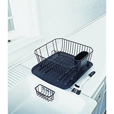 Rubbermaid 4 Piece Antimicrobial Counter Top Sinkware Wire Drainer
