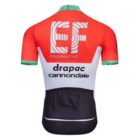 Team Ef Drapac Cannondale 2018 Cycling Jersey Red  822011fa2