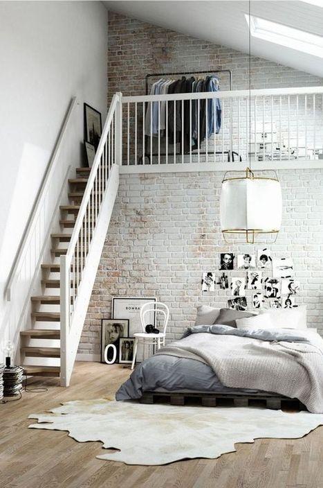 20 Amazing Loft Style Bedroom Design Ideas Schlafzimmer Design