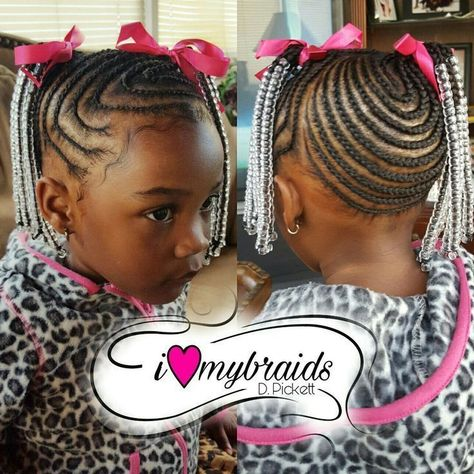 Kids hair. Braids. Little Girls braids. Black hair. Braids