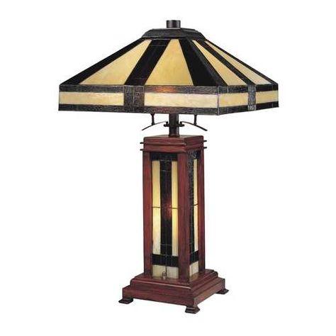 Design Classics Lighting Tiffany Table Lamp 5971 1 105 34 Destination Lighting With Images Tiffany Table Lamps Wood Lamp Base Lamp