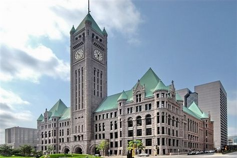 Minneapolis City Hall and Hennepin County Courthouse is located in Minnesota…
