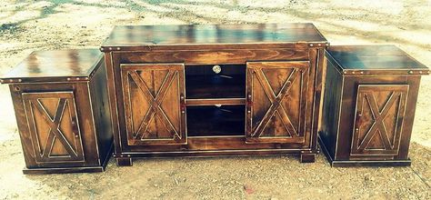 Living Room Rough Country Rustic Furniture Decor