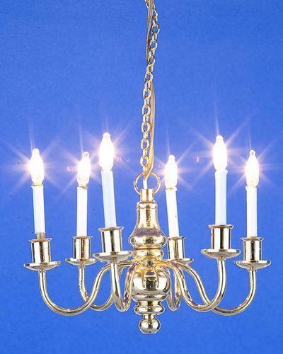 y Lámpara techo Muñecas de velasCasitas 6 de Miniaturas m8n0vNw
