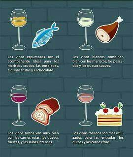 El Vino Y Su Maridaje Vino Espumoso Vinos Vino Rosado