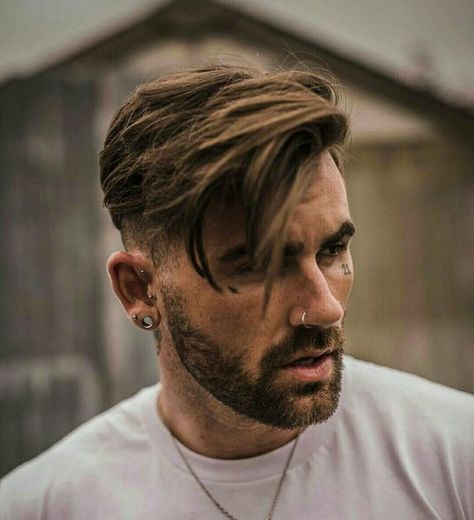Short Fade Haircut on the Sides and Back with Long Side Swept Hair on Top, Best Haircuts For Men: Cool Men's Hairstyles To Get Right Now - Short, Medium and Long Hair Guys für Männer Medium Top 35 Popular Men's Haircuts + Hairstyles For Men Guide) Popular Mens Haircuts, Cool Hairstyles For Men, Cool Haircuts, Hairstyles Haircuts, Casual Hairstyles, Mens Hairstyles Medium Undercut, Quick Hairstyles, Boy Haircuts Long, Wedding Hairstyles