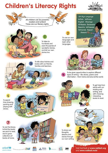 Nal'ibali Launches Children's Literacy Rights Poster this World Book Day