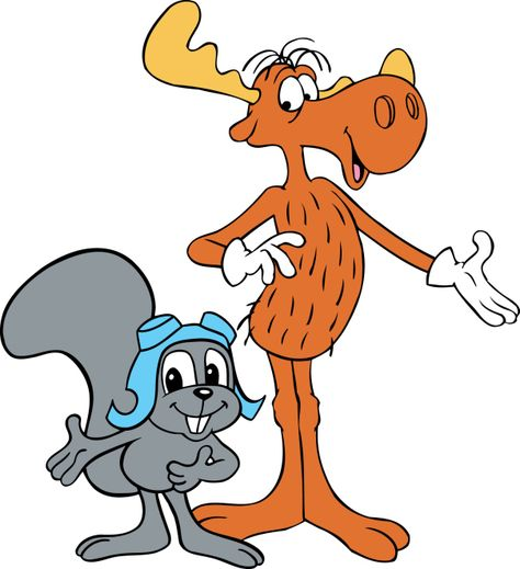 Image result for rocky and bullwinkle show