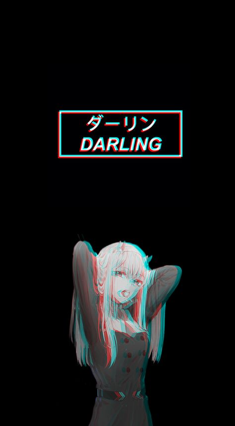 Zero Two phone wallpaper by me