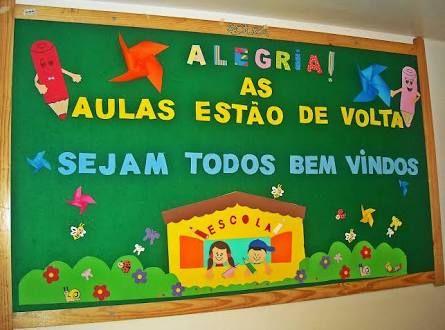 Resultado De Imagem Para Painel De Boas Vindas Para Escola Com