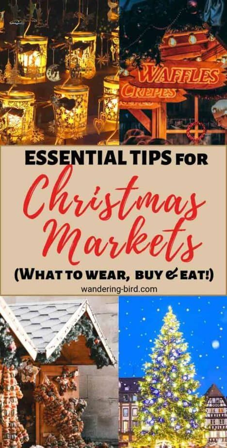 Christmas Markets Europe 9 Essential Tips You Need To Know In 2020 Christmas Markets Europe Christmas Travel Destinations Christmas In Europe