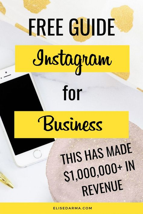 Discover how to use Instagram for business marketing as an entrepreneur. Learn how to grow your business online using these tips and tricks to increase your followers, engagement, and sales. Instagram marketing has never been easier! Enter your name and email to download your Instagram for Business Guide! #instagramforbusiness #instagrambusinesstips