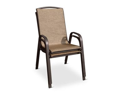 Aldi Us Gardenline Stacking Chair Outdoor Chairs Grocery Ads