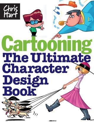 Pdf Download Cartooning The Ultimate Character Design Book By Christopher Hart Author Christopher Ha Book Design Character Design Cartoon Character Design