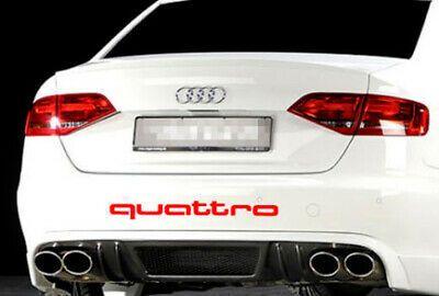 Audi TT RS A3 A4 S-line Quattro HI-TEMP PREMIUM BRAKE CALIPER DECALS STICKERS