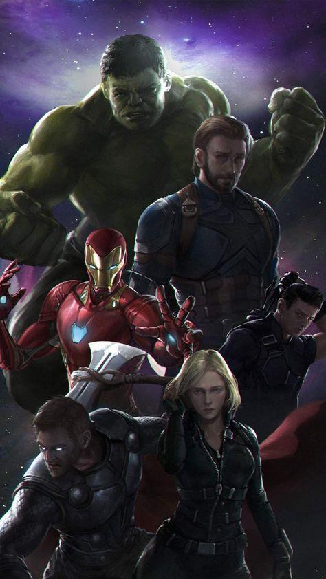 Avengers Team IPhone Wallpaper - IPhone Wallpapers