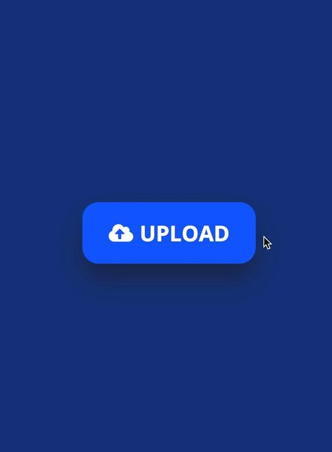 Upload button animation
