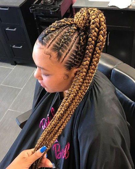 Braided Ponytail Hairstyles For Black Hair Braided Ponytail
