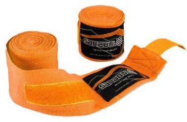 Sanabul Elastic Professional 180 inch Handwraps for Boxing Kickboxing Muay Thai MMA