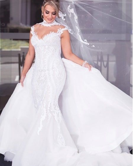 This was a custom #bridal gown created specifically for this #bride. But you can have this same #design recreated as...